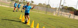 Campamentos de fútbol