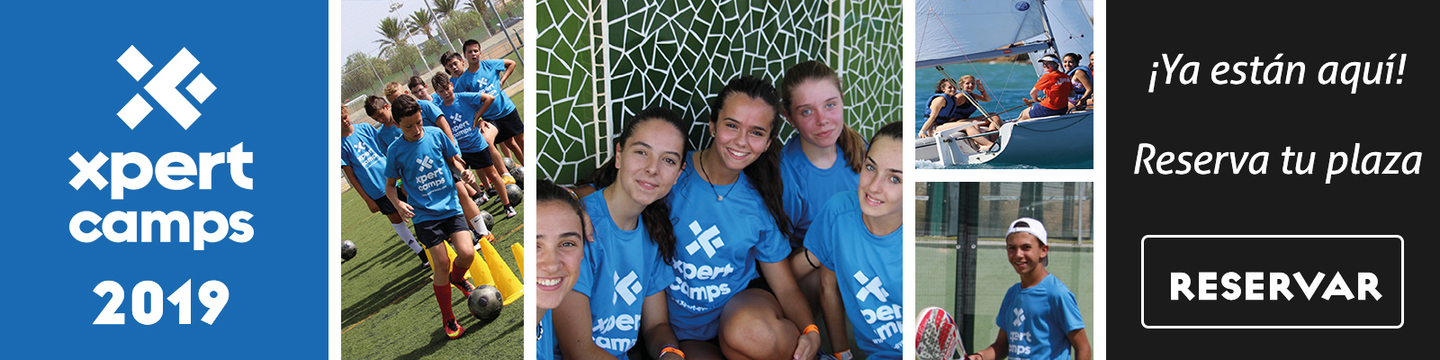 Campamentos de verano 2019 - XPERT-CAMPS