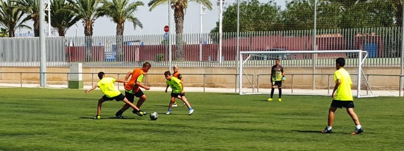 Campamento de Verano Fútbol Tecnificación