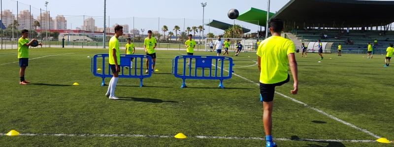 Campamento de Verano en la playa Fútbol Tecnificación